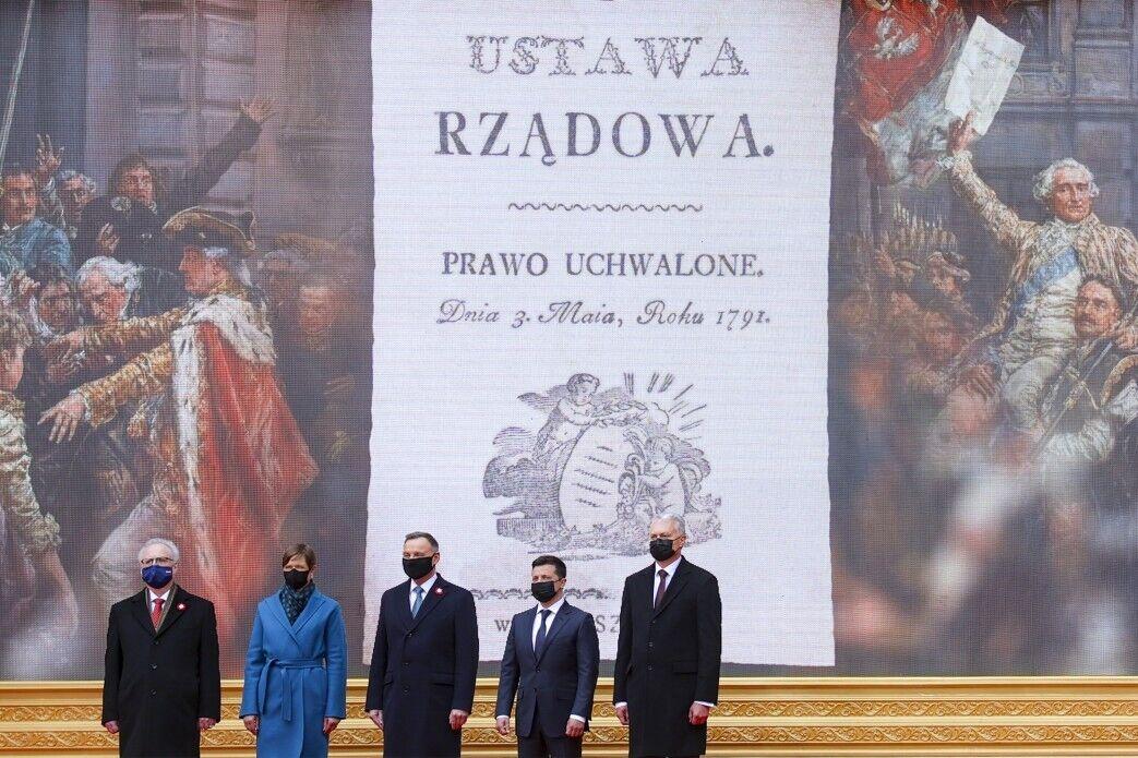 Володимир Зеленський в Польщі