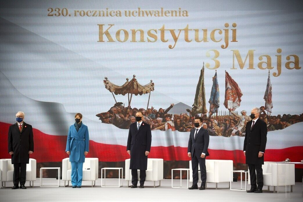 Зеленський на саміті президентів