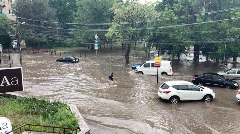 Потоп в Симферополе.