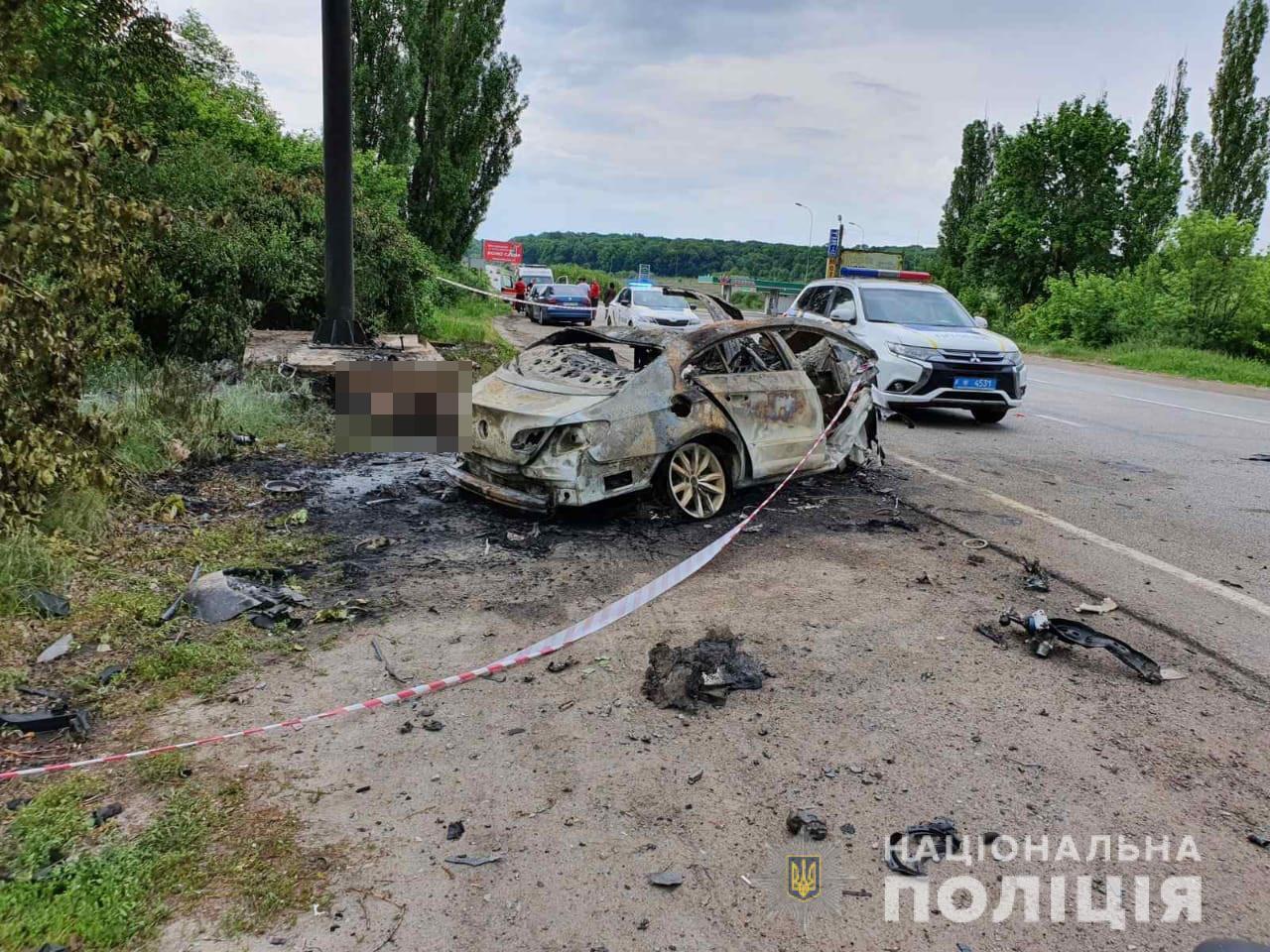 Смертельная авария в Харьковской области