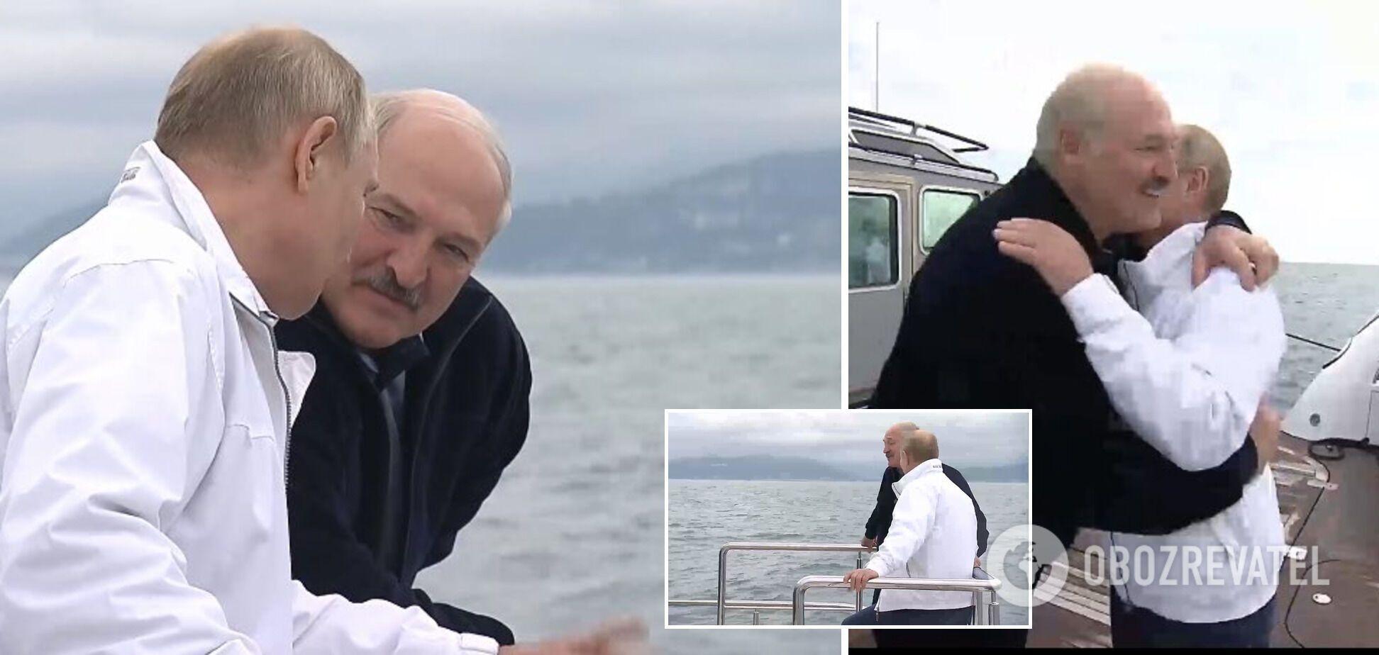 Неформальная встреча Лукашенко и Путина