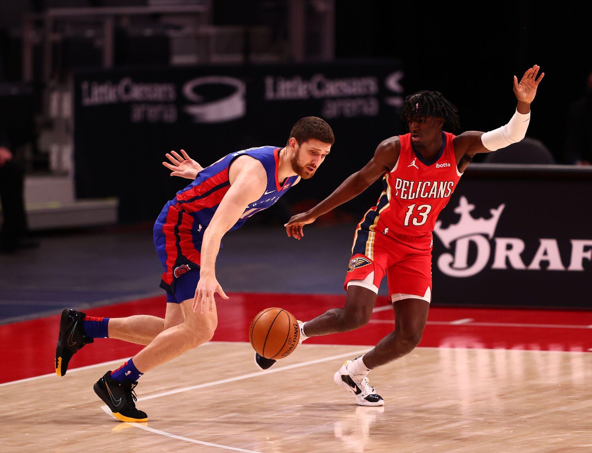 """""""Детройт"""" стал второй командой Михайлюка в НБА после """"Лос-Анджелес Лейкерс"""""""