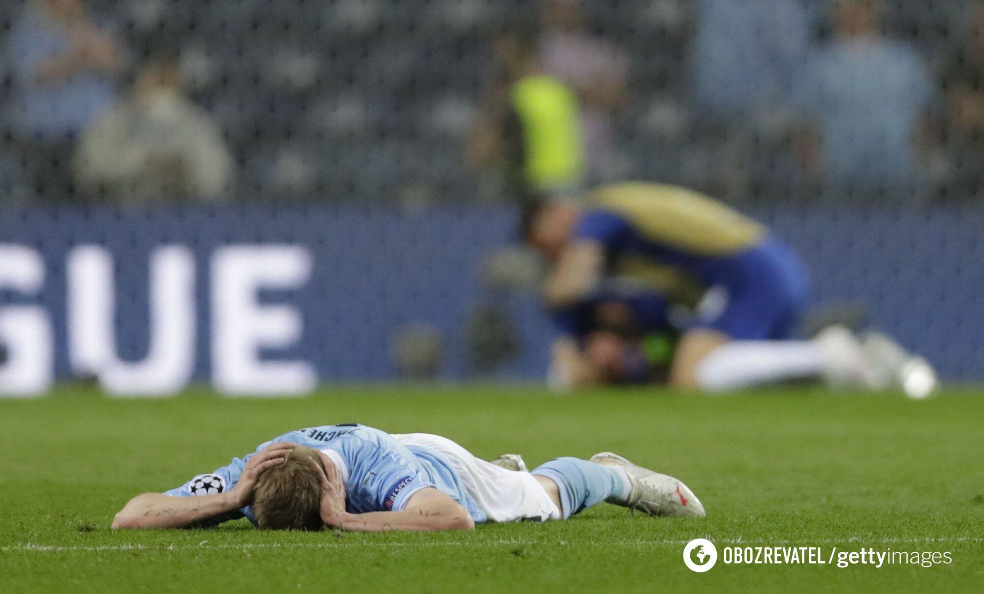 Александр Зинченко после поражения в финале ЛЧ
