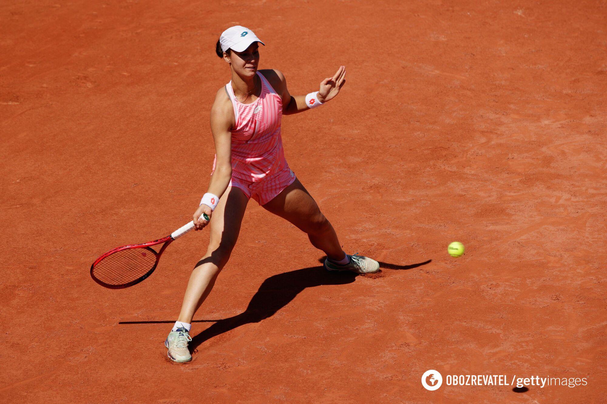Калинина выиграла уже 14 матчей подряд