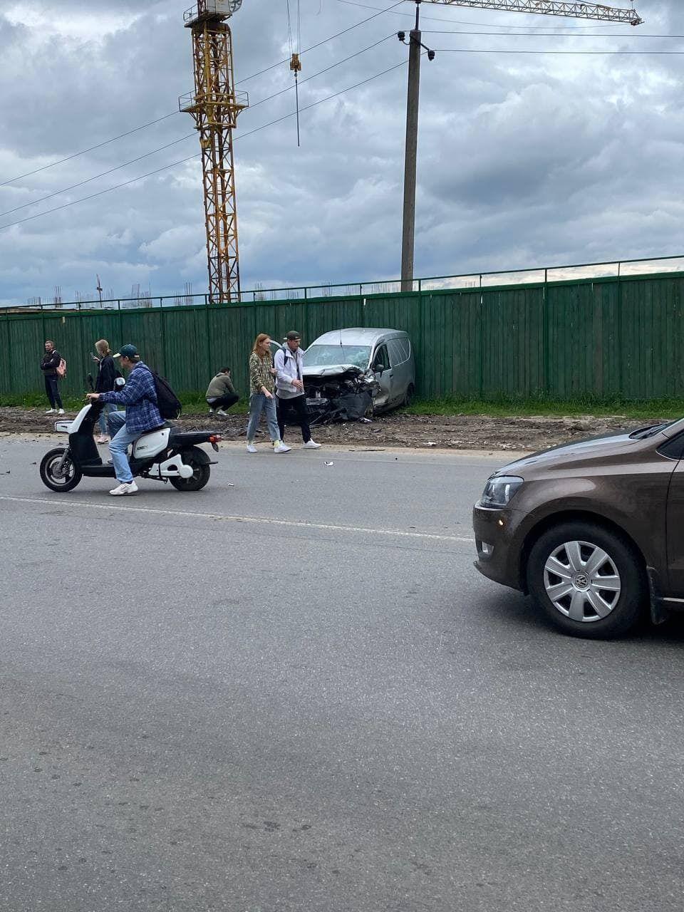 ДТП трапилася у Крюківщині