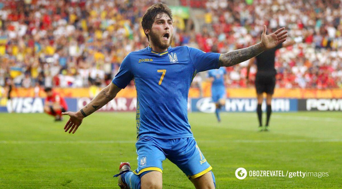 Цітаішвілі – чемпіон світу U-20 у складі збірної України.