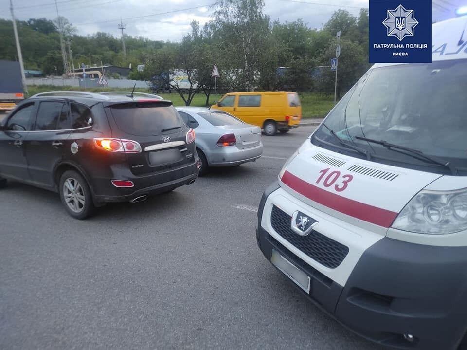 Событие произошло на улице Академика Заболотного.