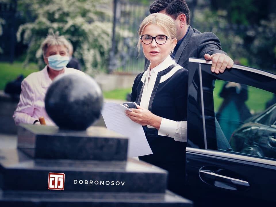 Юлия Тимошенко в элегантном платье