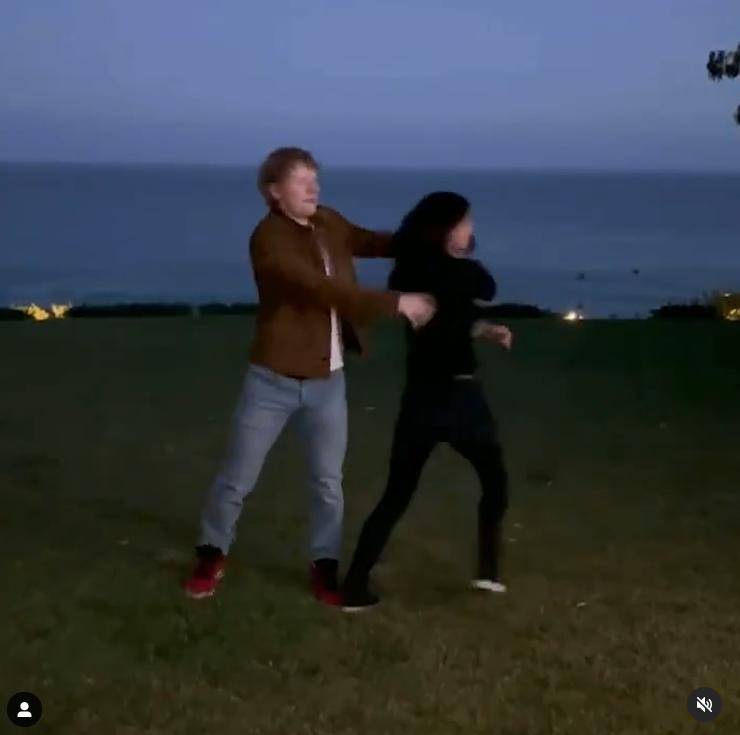 Танец Кокс и Ширана