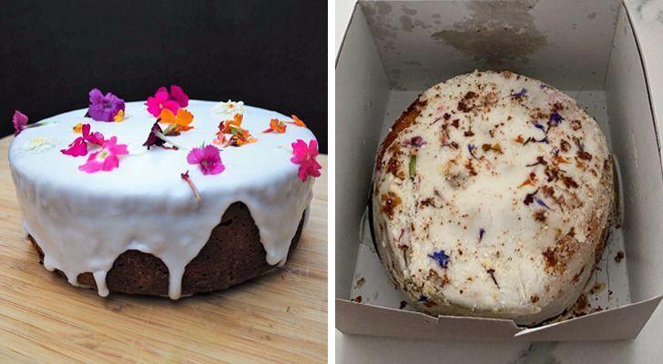 На картинке пирожное выглядит по-другому.