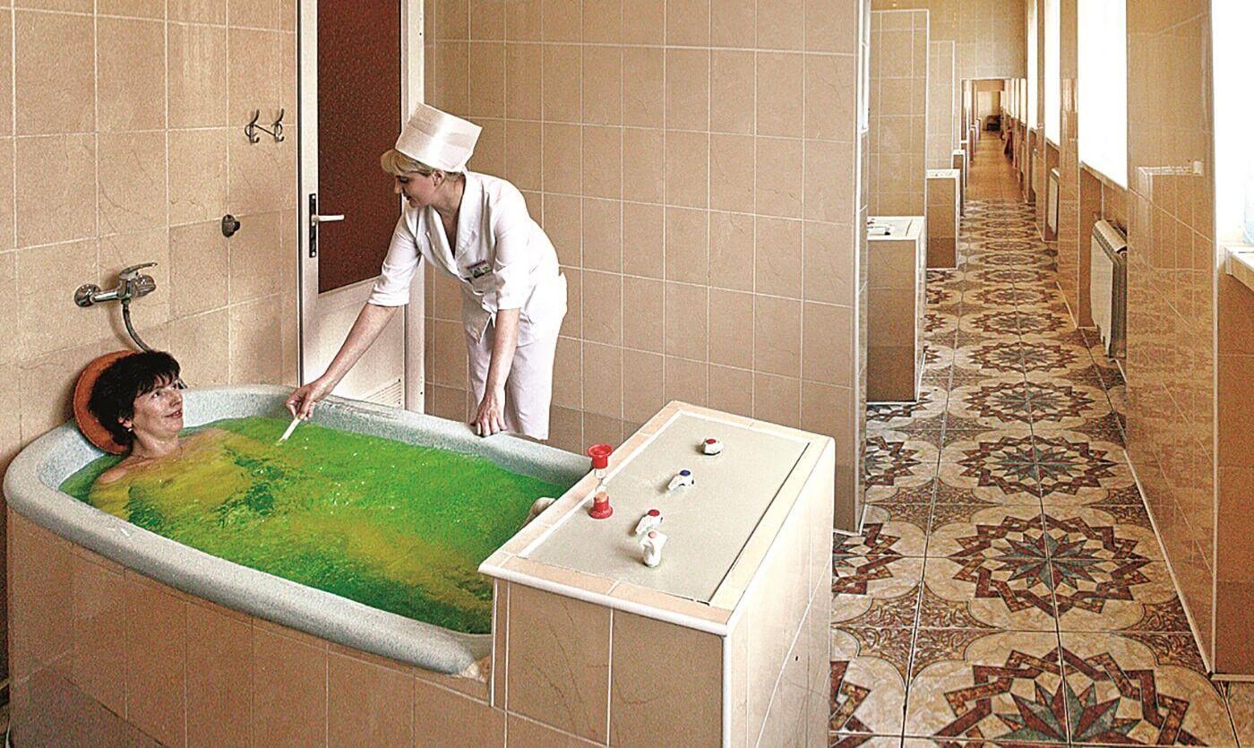 Сірководневі ванни сприяють нормалізації імунної та нервової систем