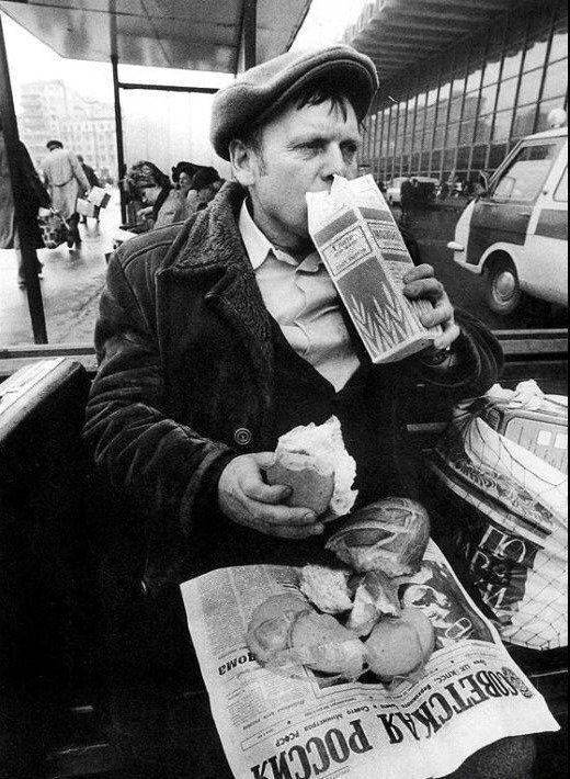 Люди їли дуже багато хліба