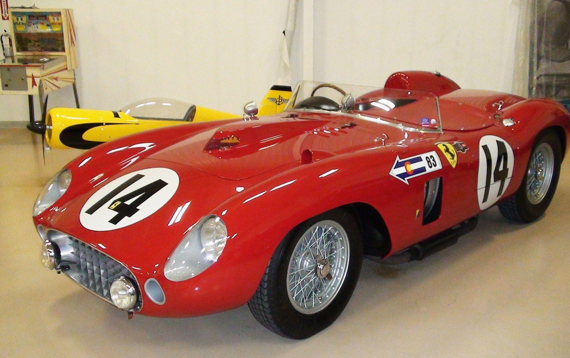 Один из четырех Ferrari 290 MM