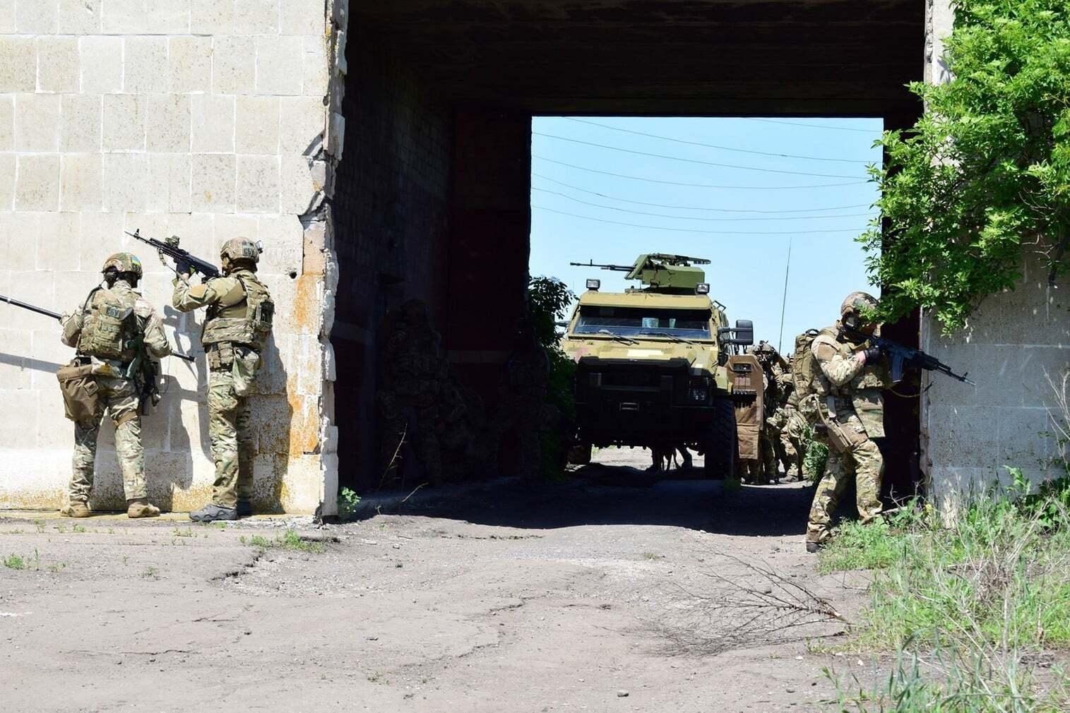 СБУ провели масштабные учения в прифронтовой Авдеевке