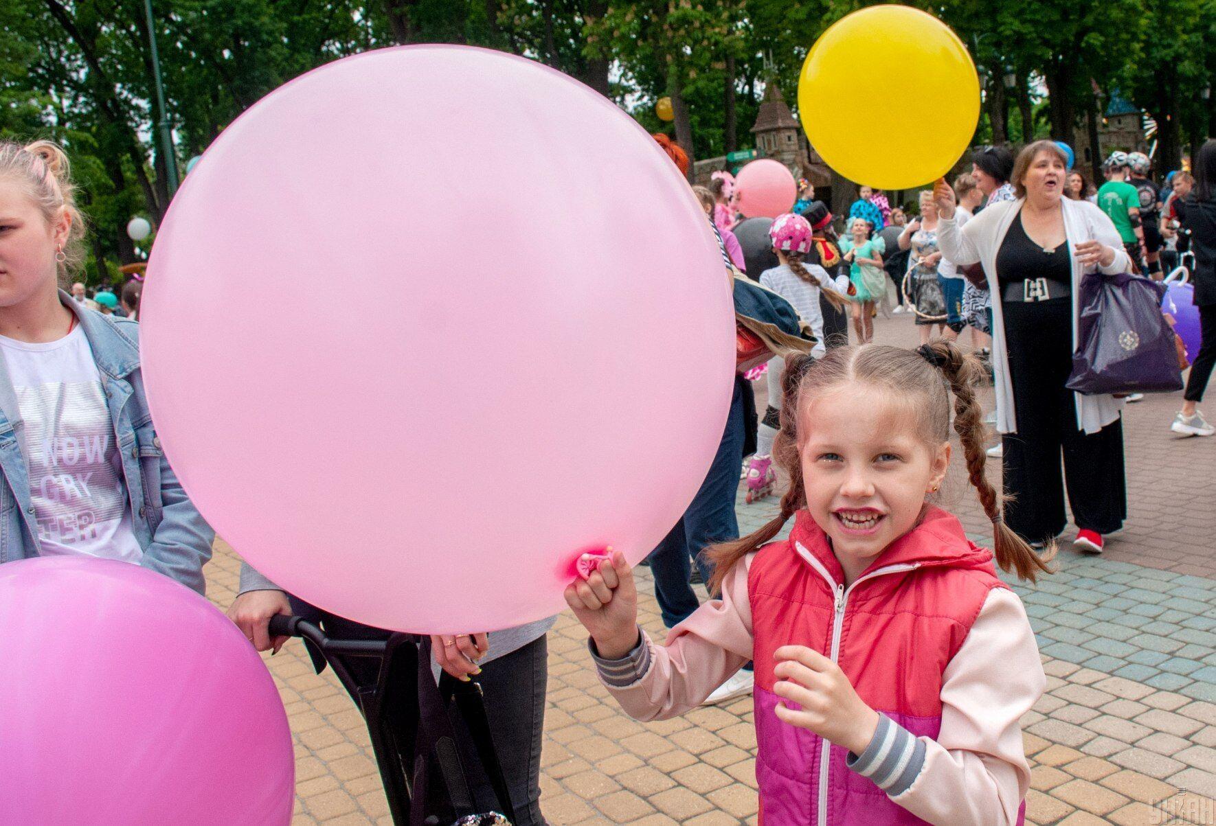 Флешмоб до Дня захисту дітей у парку Горького в Харкові, 30 травня 2021 року