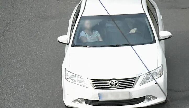 Водитель пытался переложить вину на супругу.