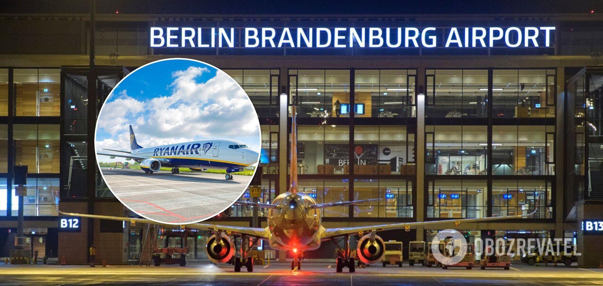 """""""Заминированный"""" самолет Ryanair рейсом Дублин – Краков экстренно посадили в Германии"""