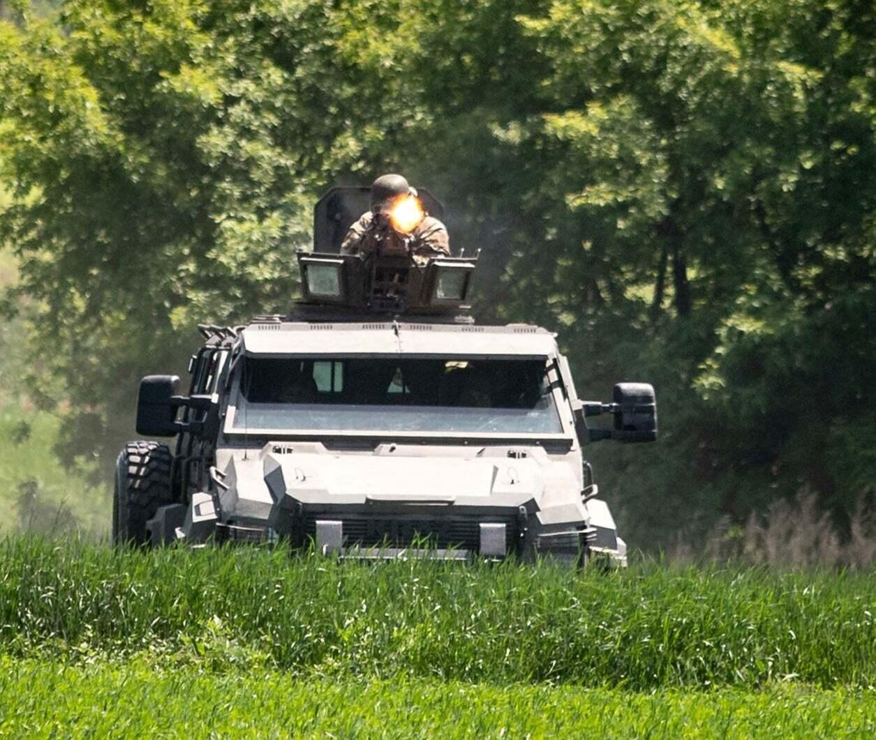 В ходе учений украинские силовики провели комплекс мероприятий для обезвреживания врага