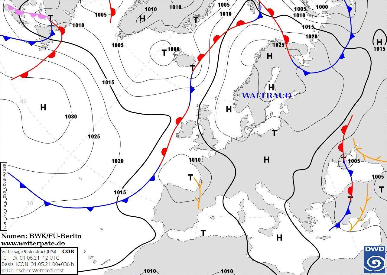 Над Крымом и Приазовьем расположится циклон