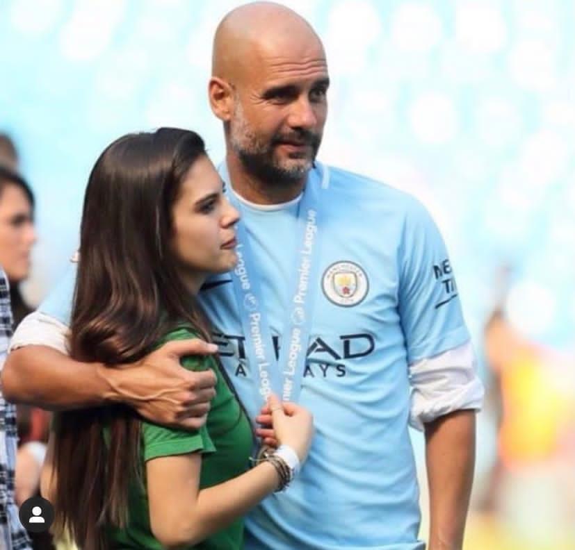 Марія Гвардіола з батьком