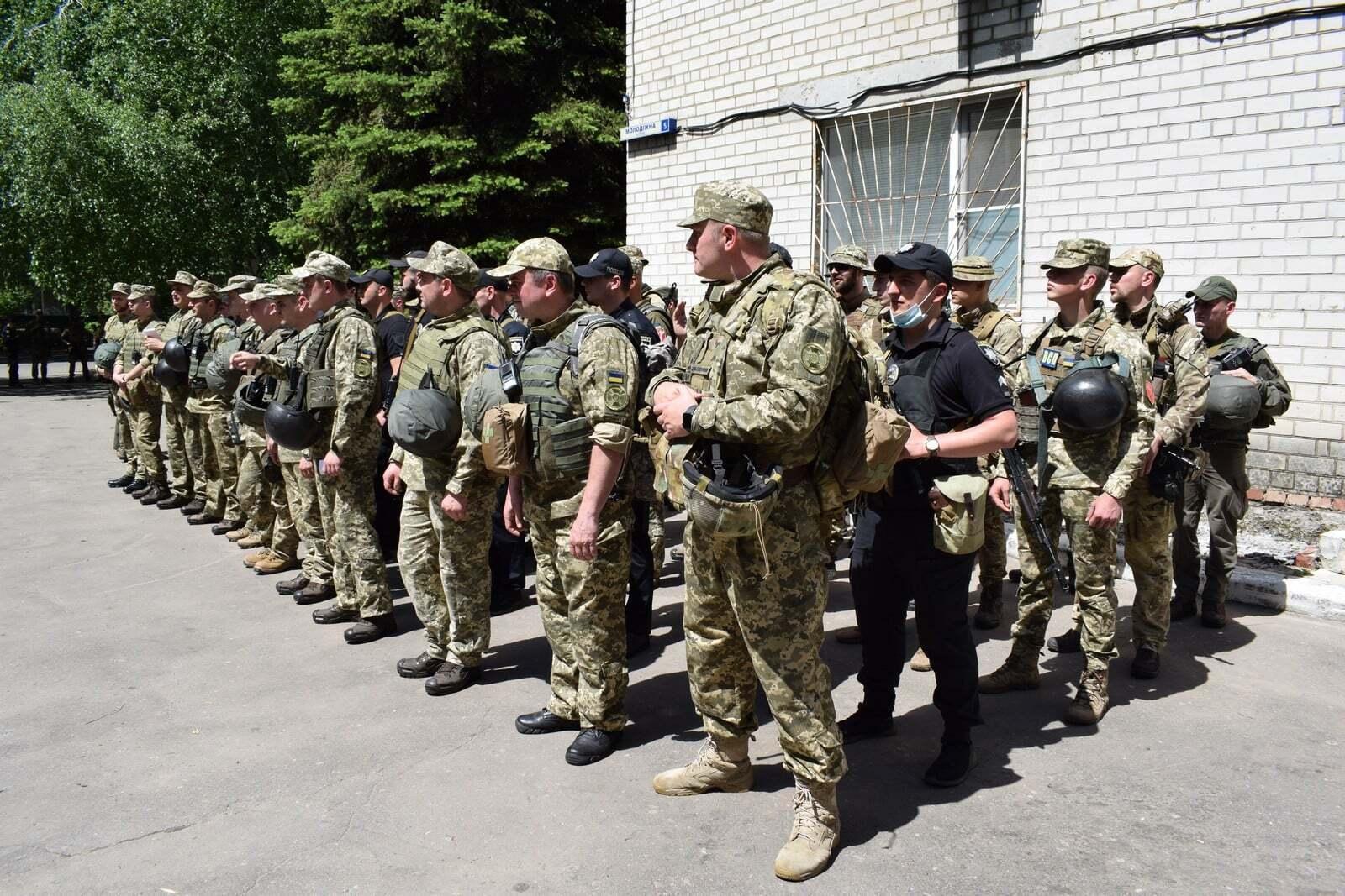 В учениях также приняли участие ВСУ, полиция, НГУ и другие силовые ведомства