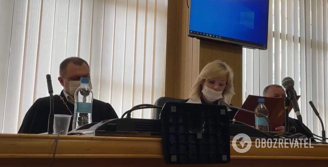 Заседание по делу Стерненко