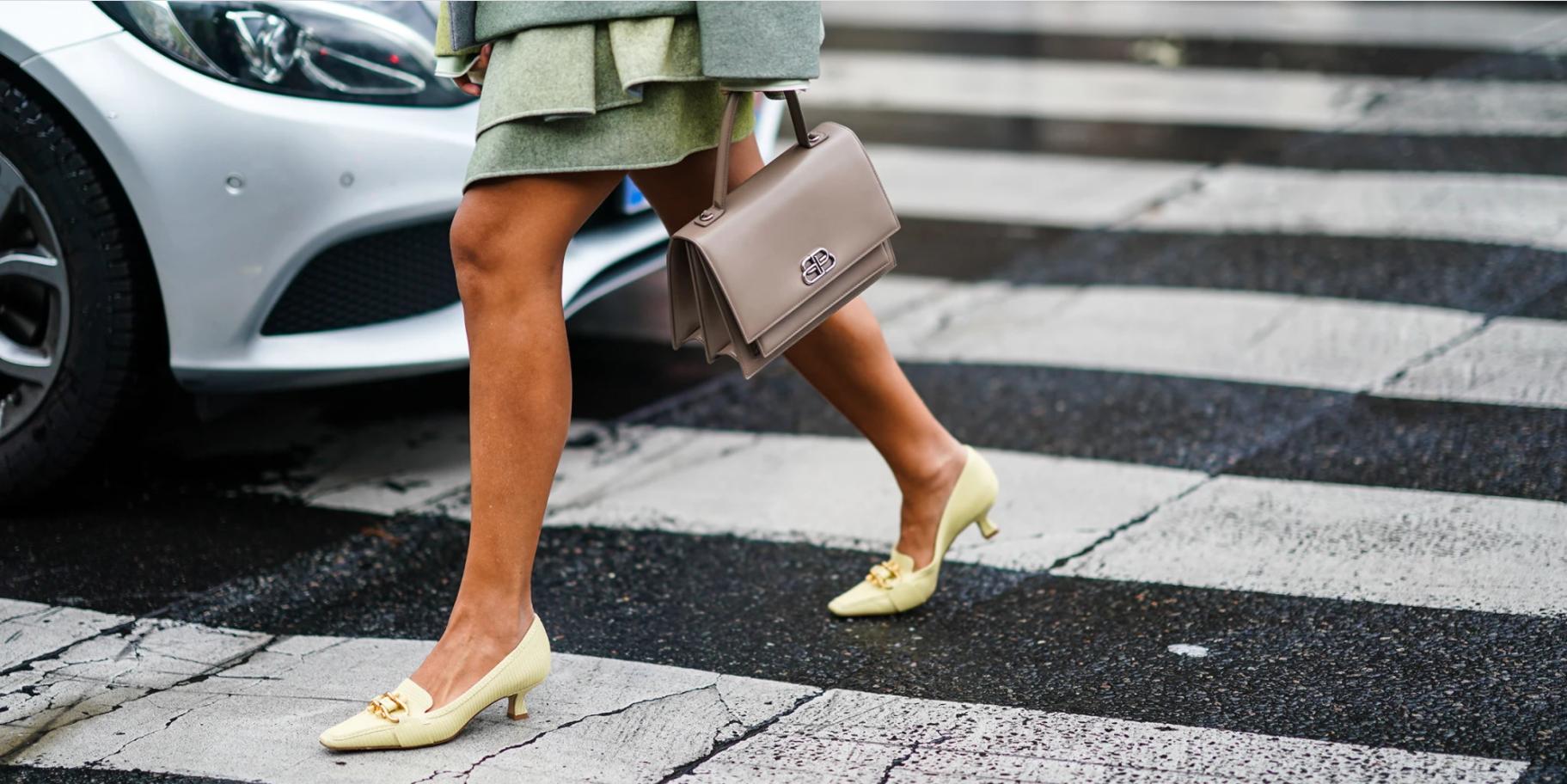 Модные туфли kitten heels