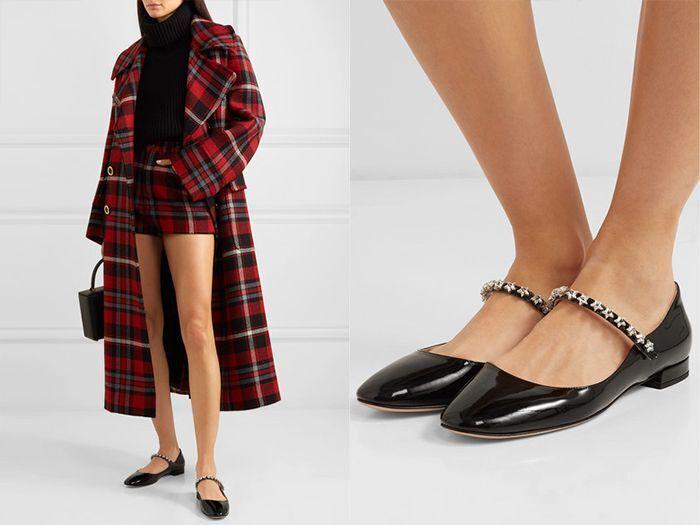 Трендове взуття без каблука 2021 – мері-джейн