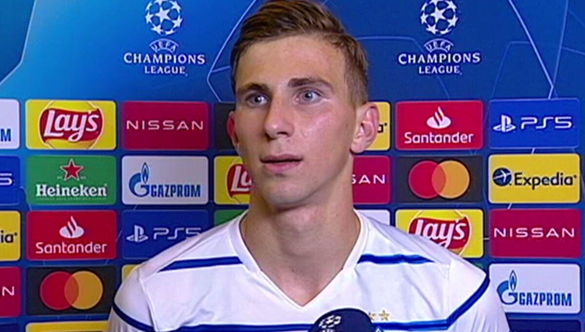 Илья Забарный дебютировал в Лиге чемпионов 2020/21