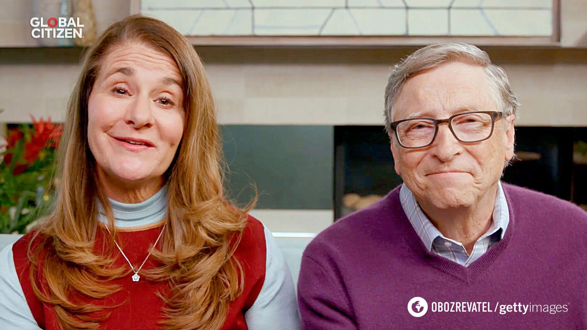 Білл Гейтс зі своєю дружиною Меліндою.