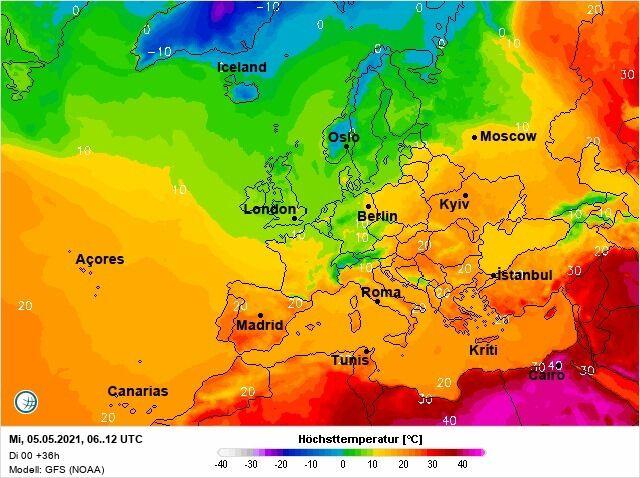 5 травня Україна буде однією з найтепліших у Європі