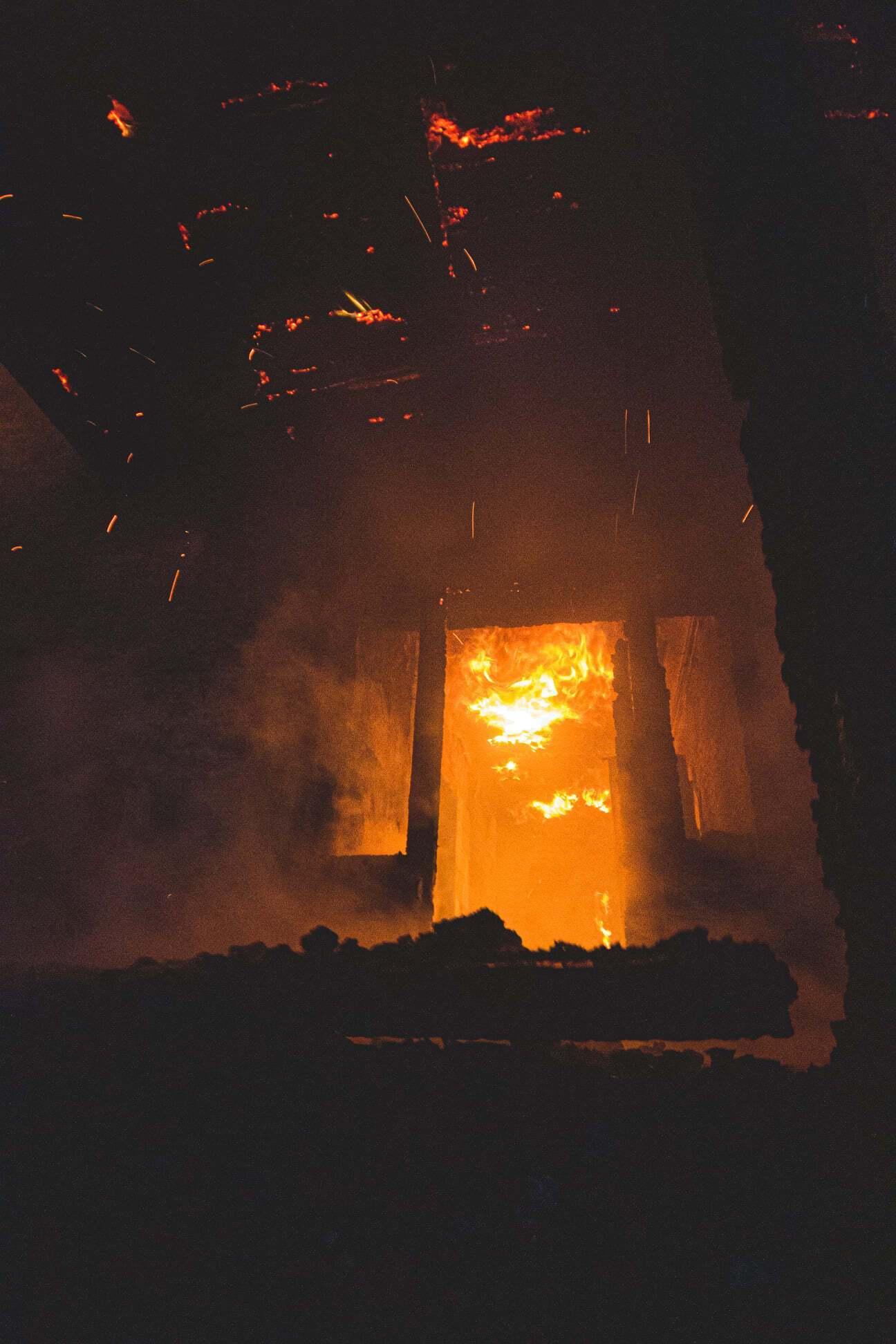 Гасіння пожежі в Києві ускладнювалося відсутністю водопостачання на місці НП