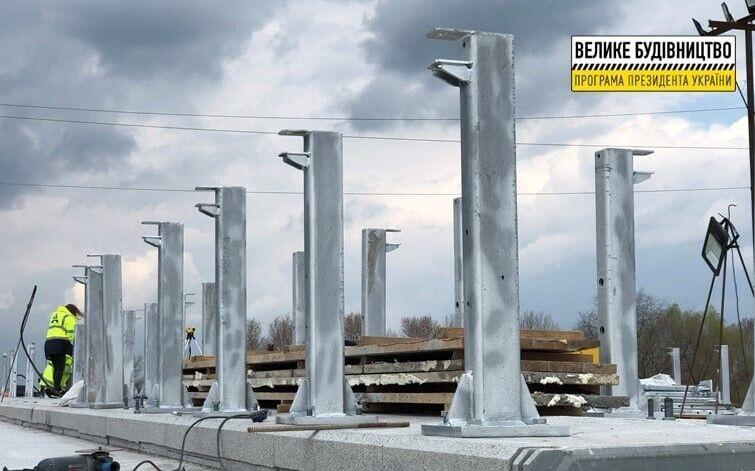 Будівництво мосту на трасі Дніпро – Решетилівка