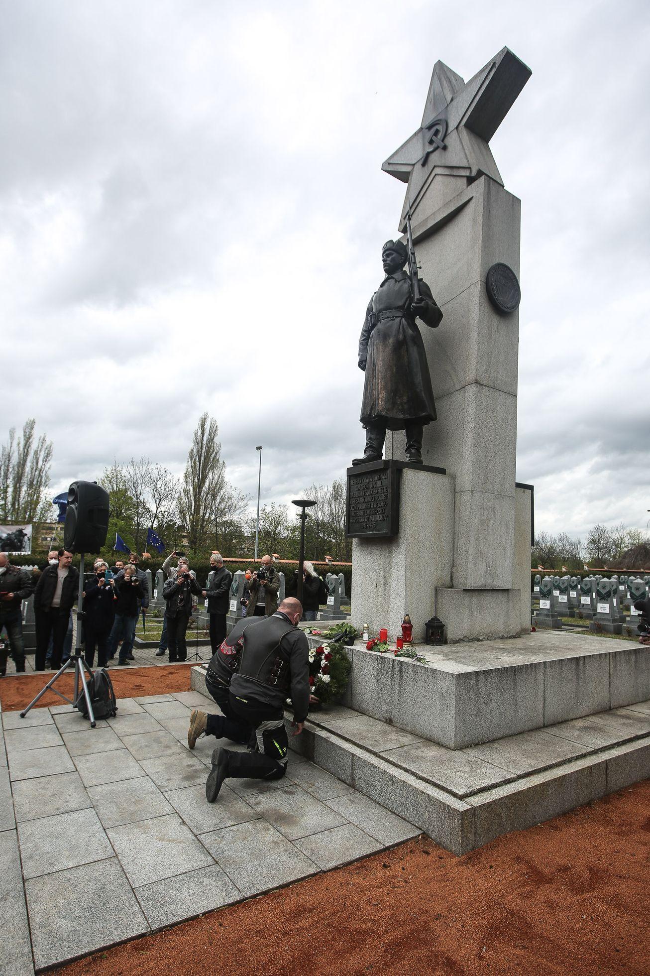 Мемориал красноармейцев