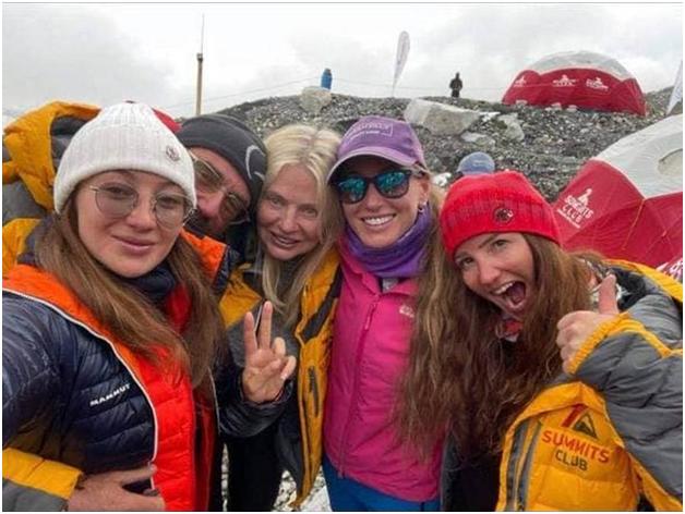 Галай у компанії представників альпіністського клубу з РФ