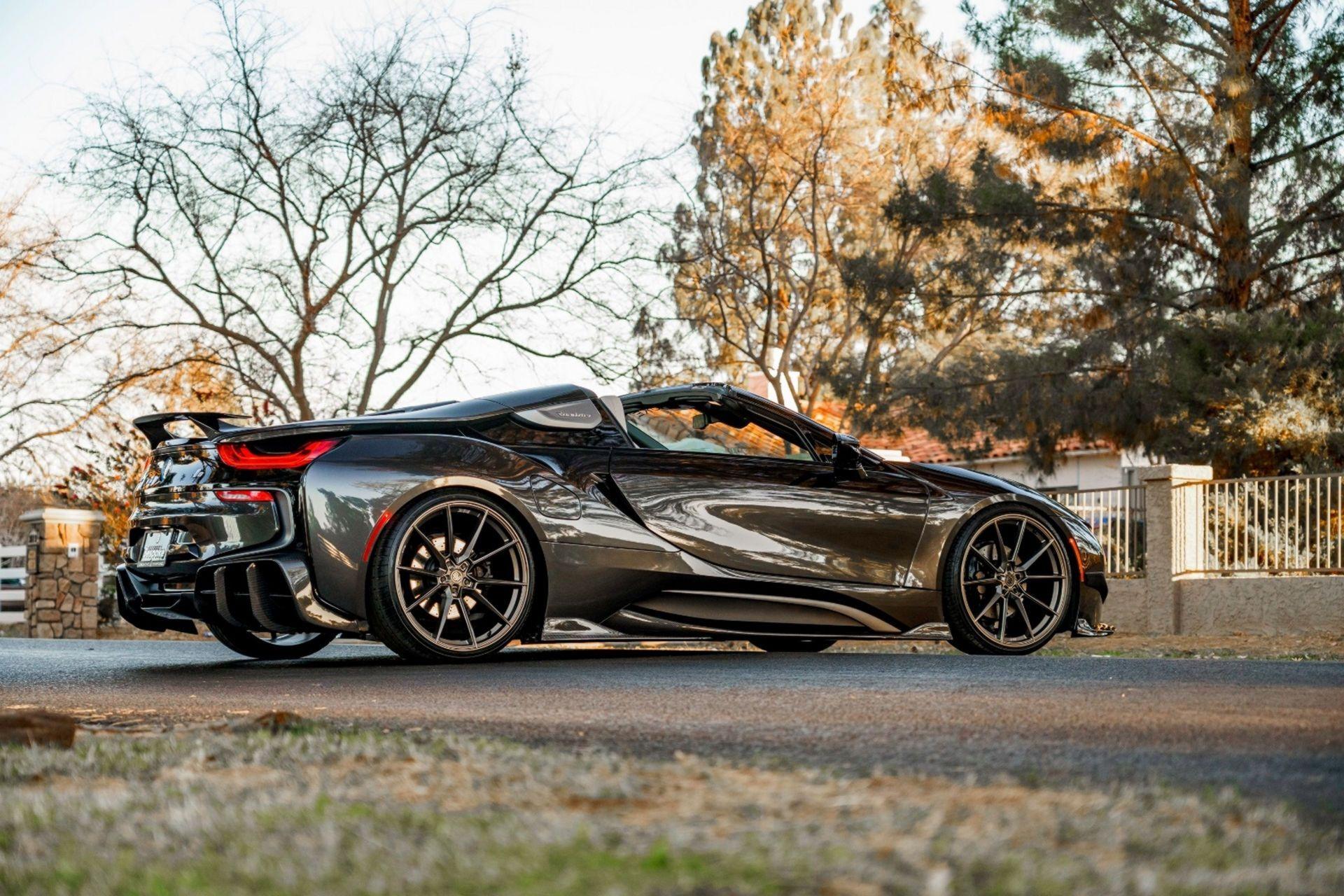 BMW i8 Roadster за 139 800 долларов