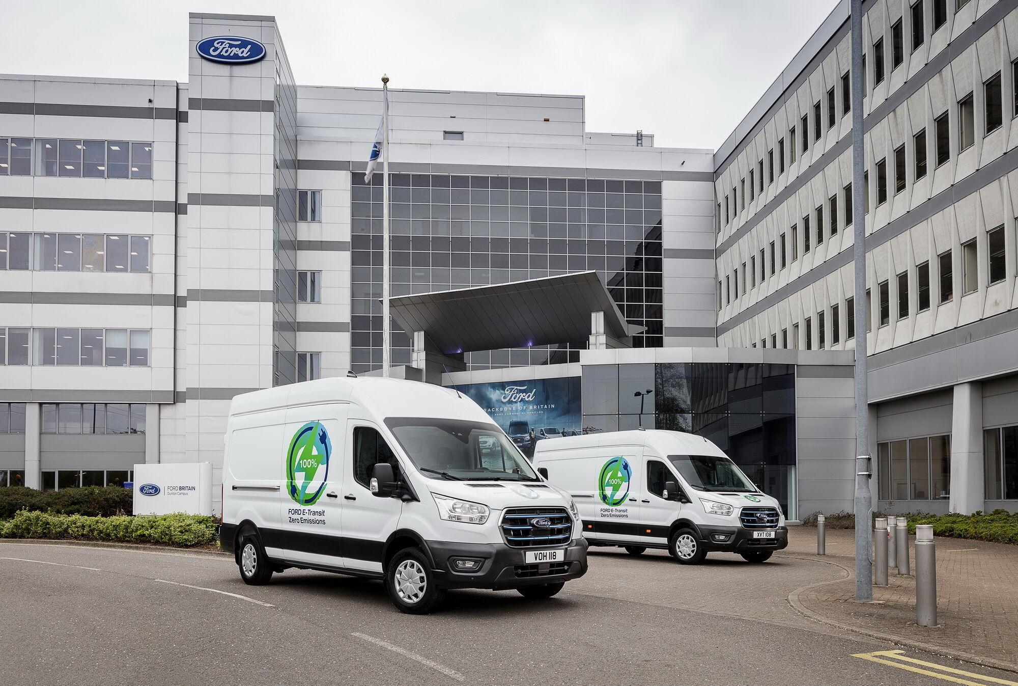 Випробування Ford в Європі для клієнтів є частиною великої програми розвитку E-Transit