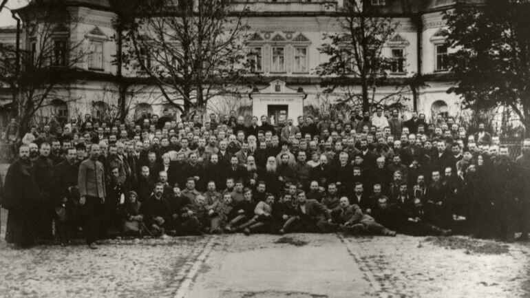 Участники Первого Собора Украинской автокефальной аравославной Церкви