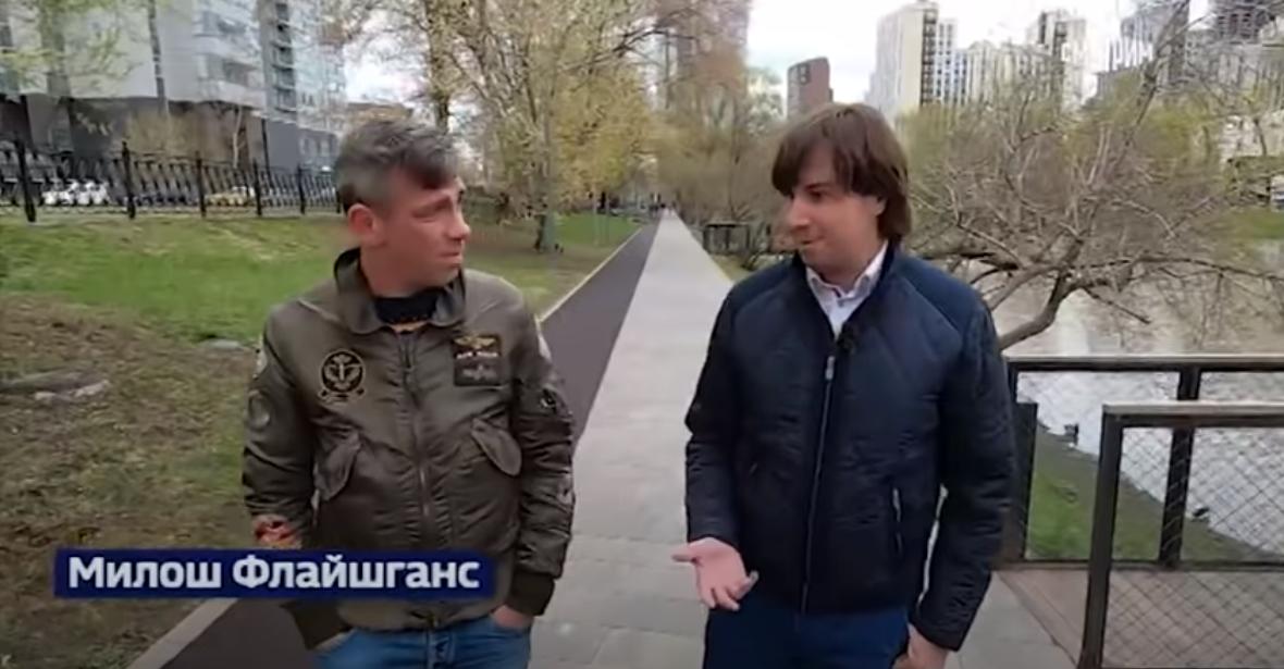 РосСМИ выдали своего корреспондента за чеха, который критиковал родную страну