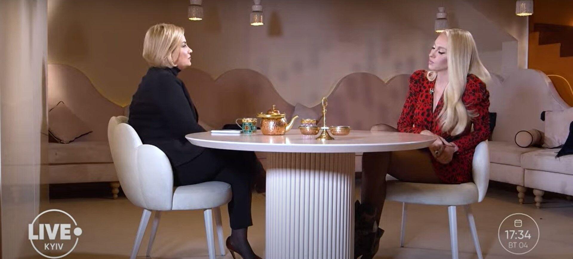 Полякова дала інтерв'ю.