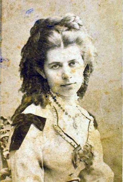 Олена Пчилка на архивном фото.
