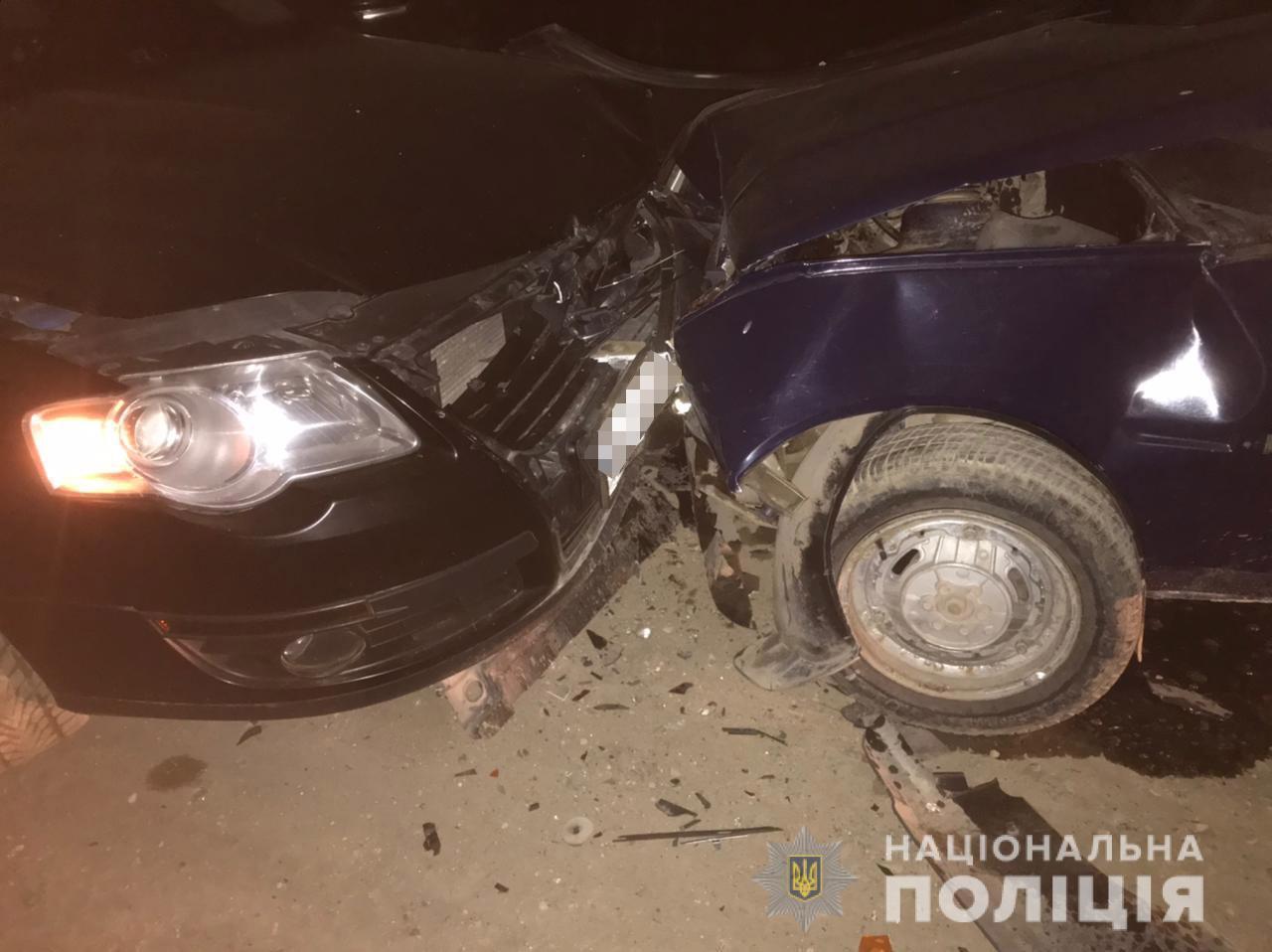 В ДТП на Львовщине пострадали две девушки-пассажирки