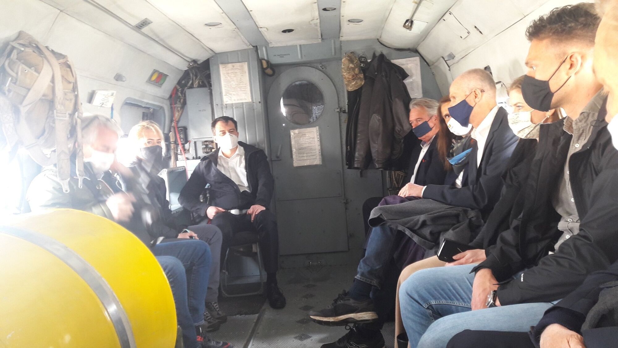На Луганщину приехали главы МИД Нидерландов, Бельгии и Люксембурга