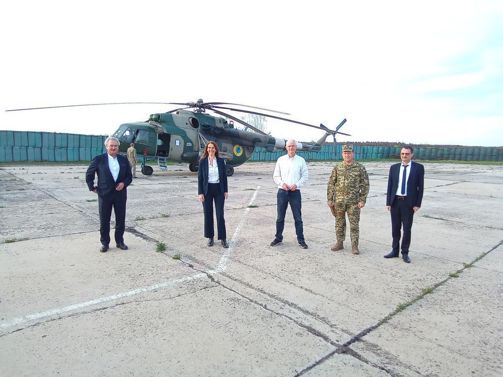 Визит иностранных партнеров на Донбасс