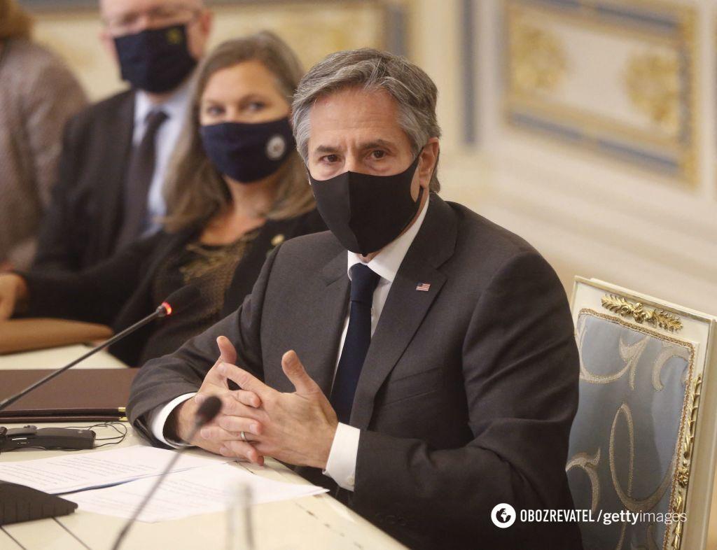 Блінкен наголосив на важливості боротьби з корупцією в Україні