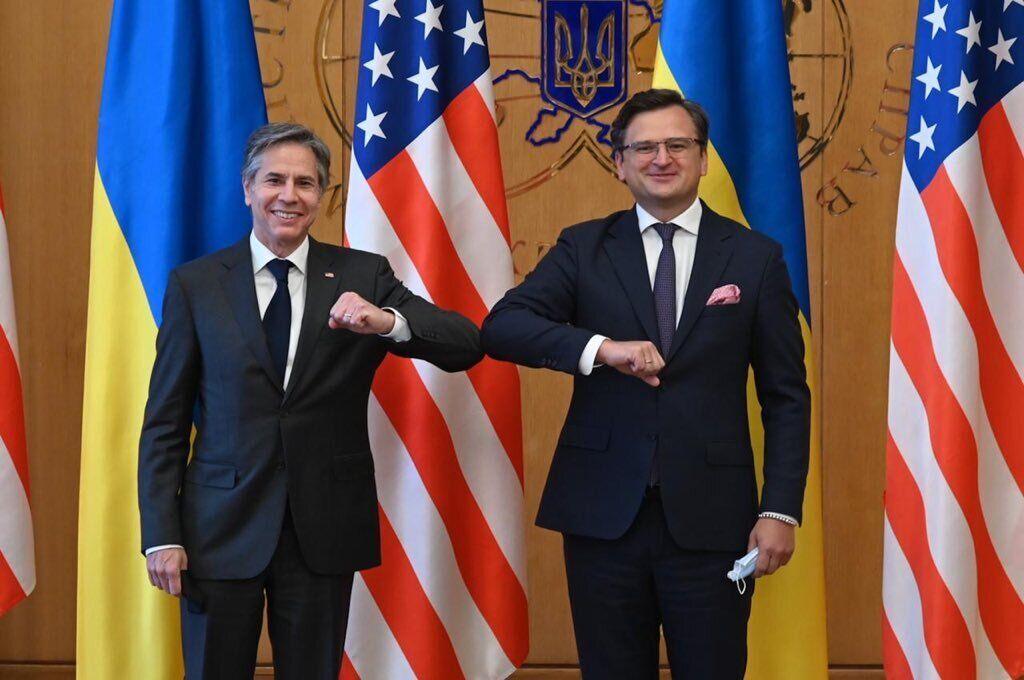Дмитро Кулеба та Ентоні Блінкен обговорили партнерство України та США