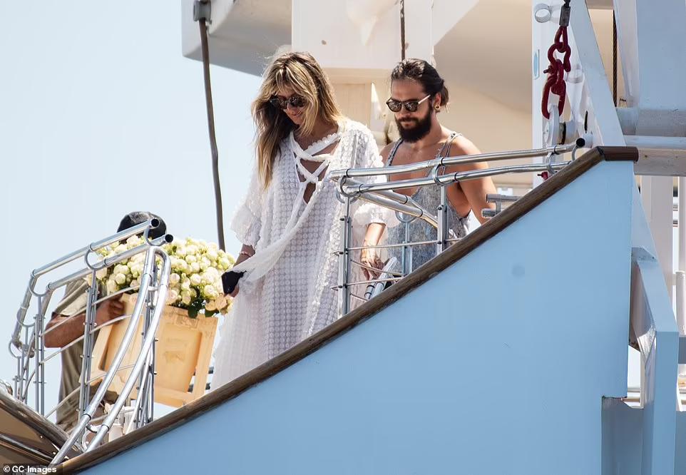 У 2019-му на легендарній яхті відпочивала і супермодель Гайді Клум разом із чоловіком Томом Кауліцем