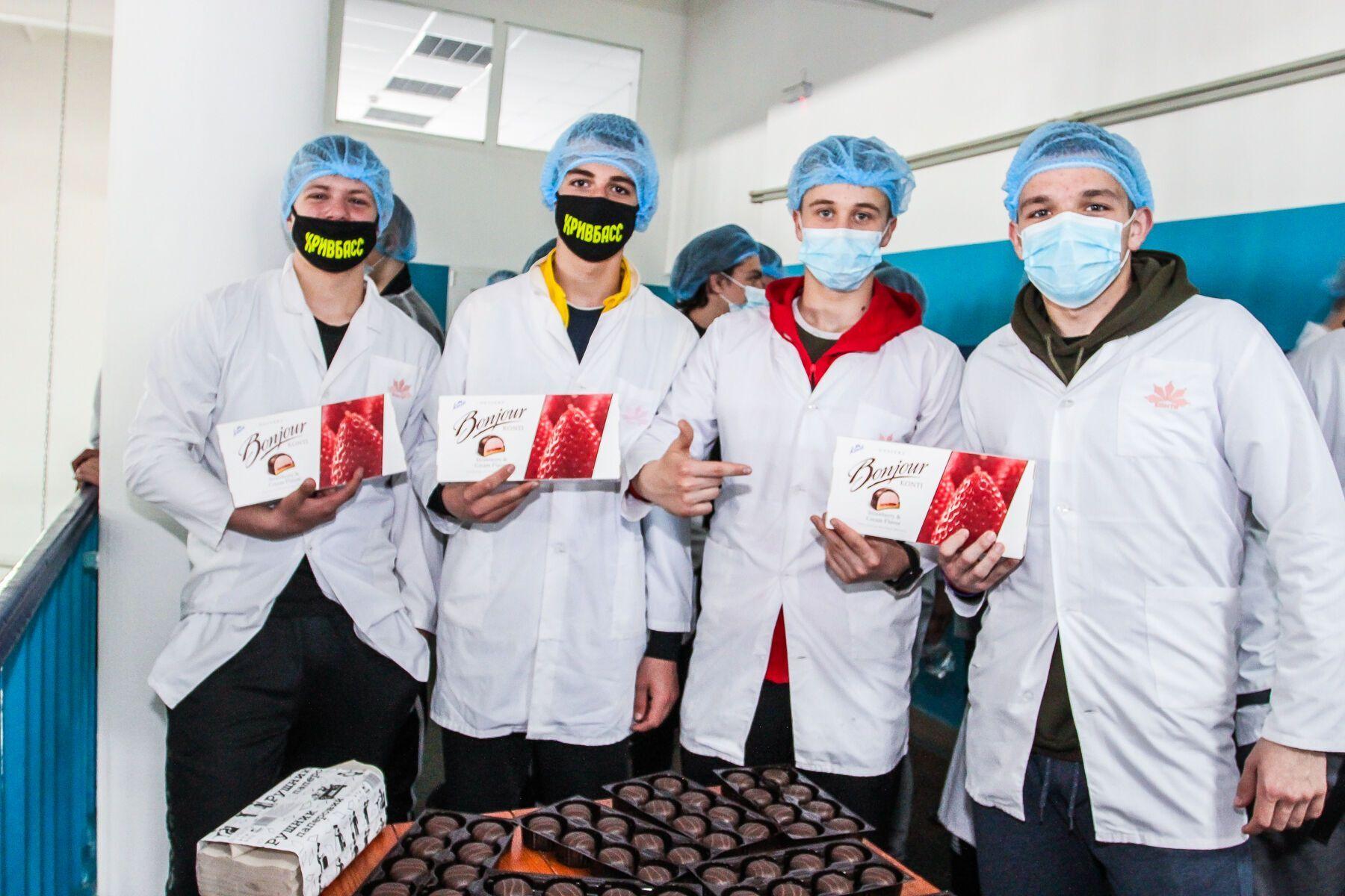 "Участники турнира посетили кондитерскую фабрику ""Конти"""
