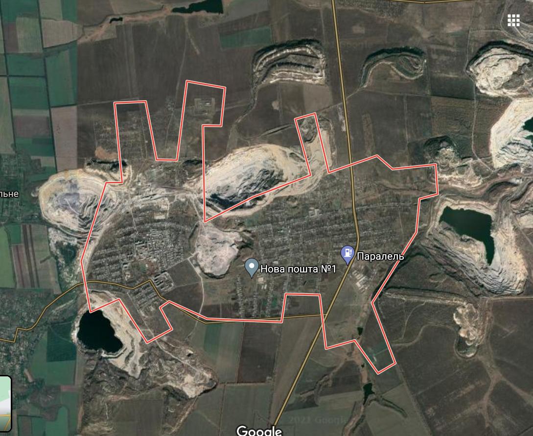 Карта Новотроїцького
