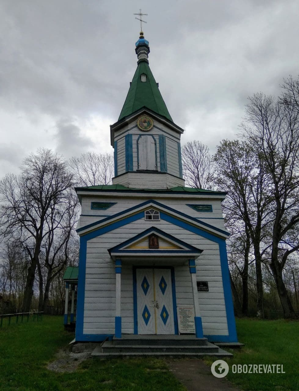Храм святого Архангела Михаїла у селі Великі Кліщі